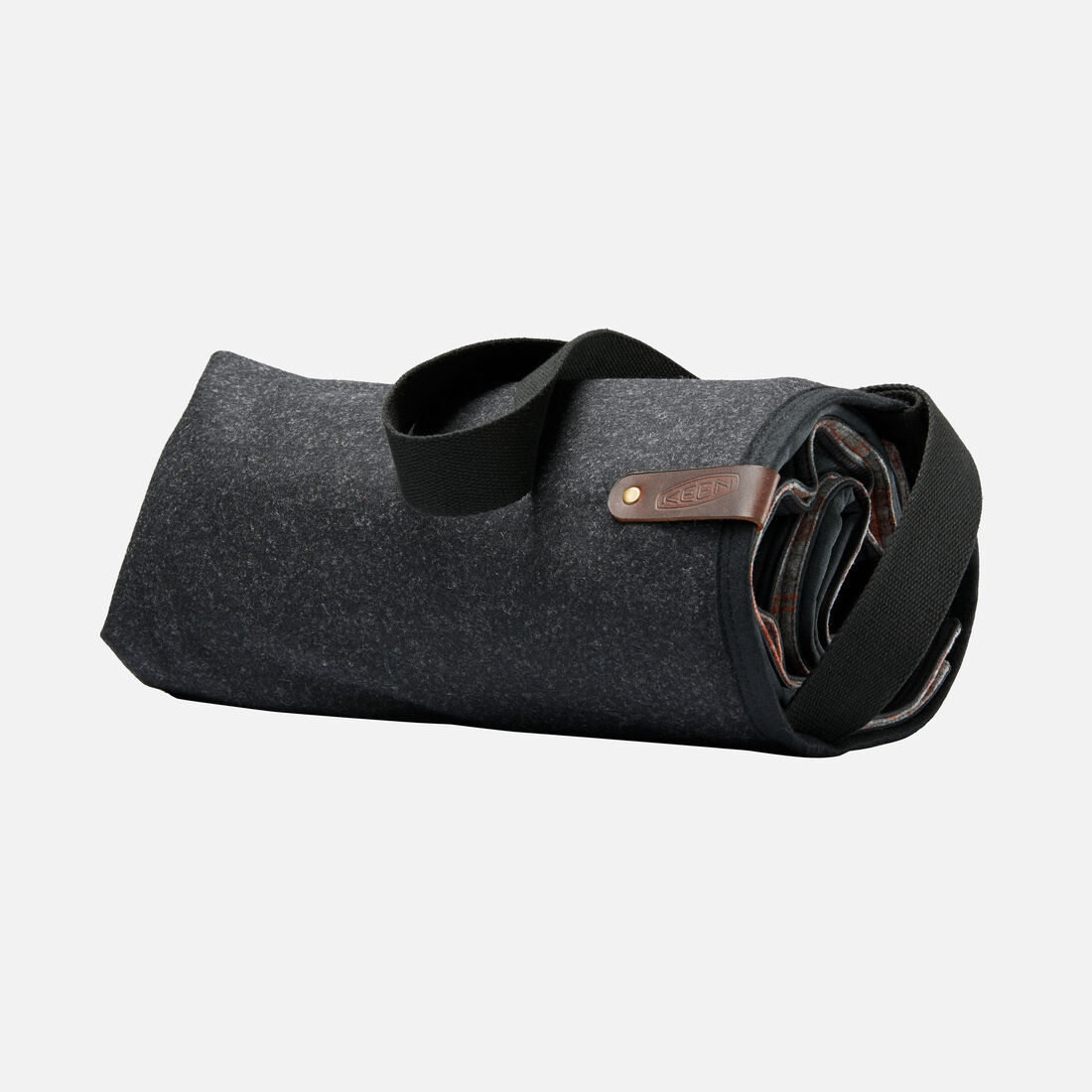 Adventure Blanket Tote in Charcoal - large view.