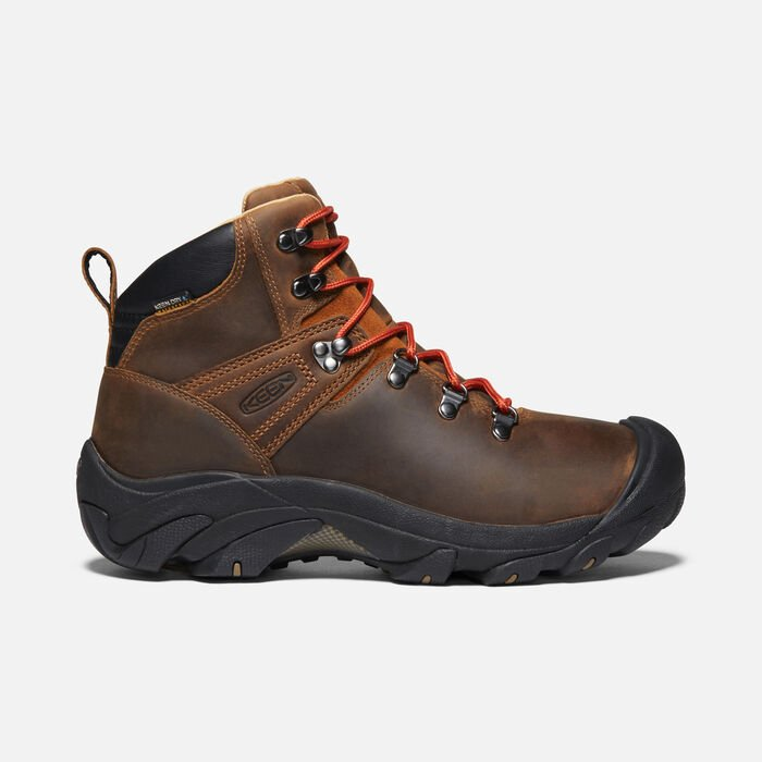 Men's Pyrenees Boots in Syrup - large view.