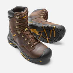 "Men's Mt Vernon 8"" Boot (Steel Toe) in Cascade Brown - small view."