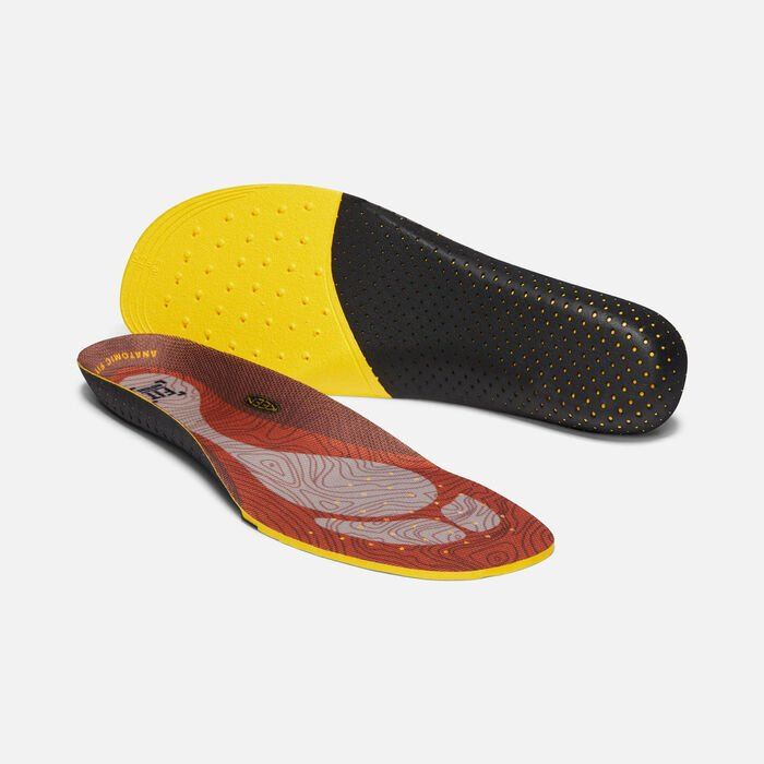 Men's Outdoor K-10 Replacement Insole in BURNT ORANGE - large view.