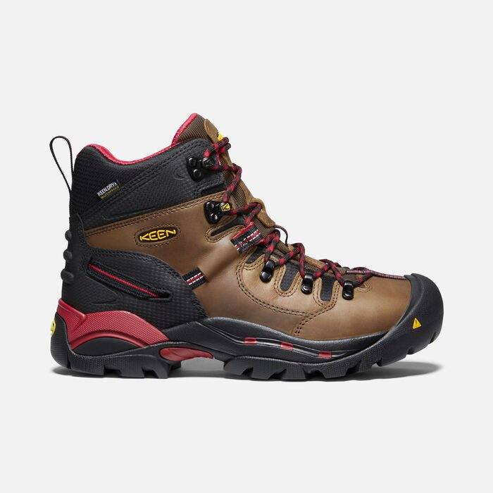 "Men's Pittsburgh 6"" Boot (Steel Toe) in Bison - large view."