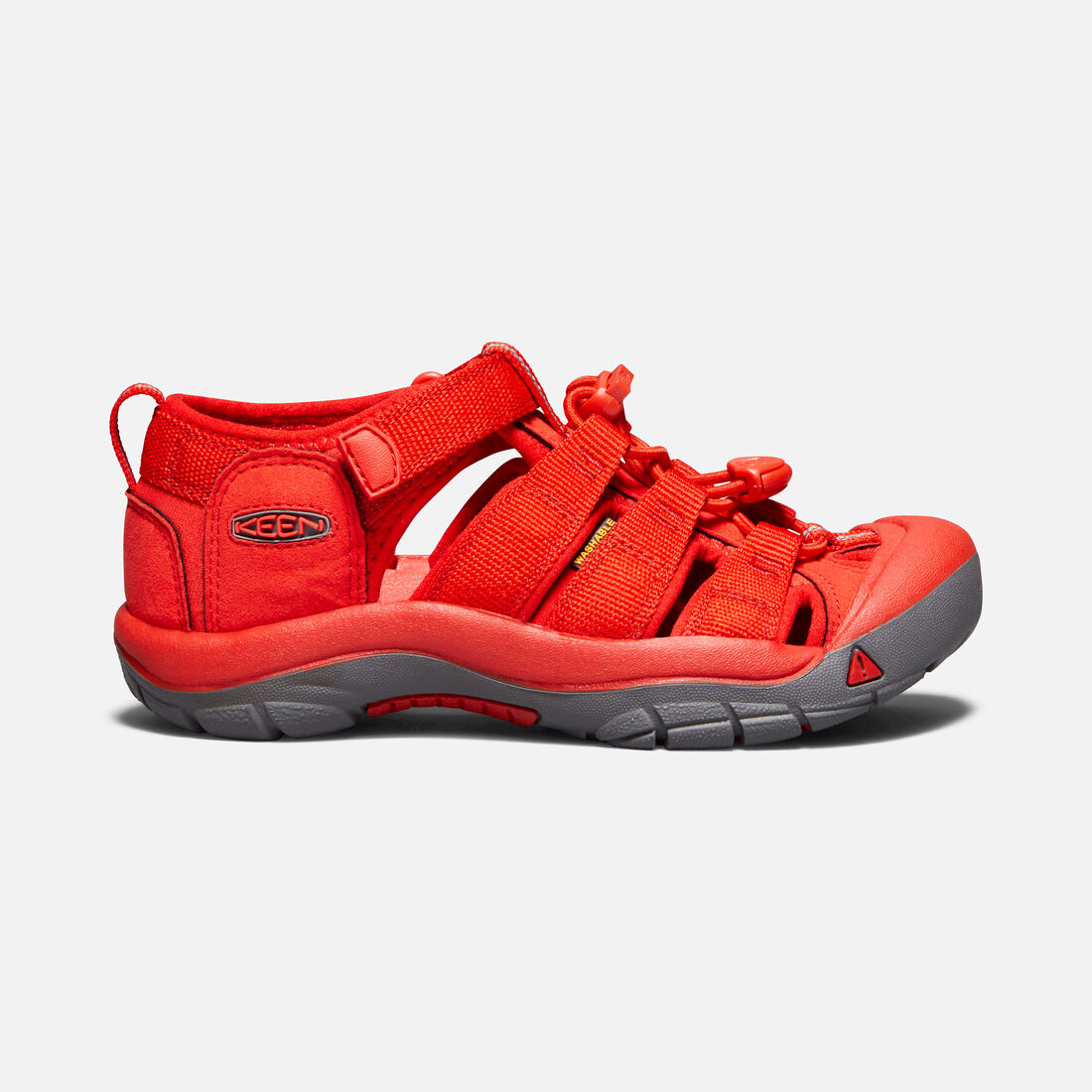 OLDER KIDS' NEWPORT H2 SANDALS in FIERY RED - large view.