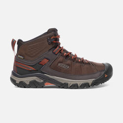Men's TARGHEE EXP Waterproof Mid in Mulch/Burnt Ochre - small view.