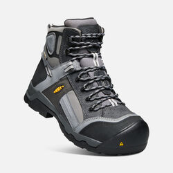 "Men's DAVENPORT 6"" Insulated Waterproof Boot (Composite Toe) in Magnet/Steel Grey - small view."