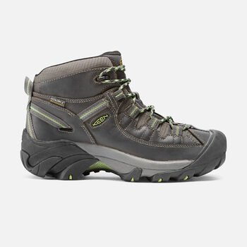 Women's Targhee II Waterproof Mid in Raven/Opaline - large view.