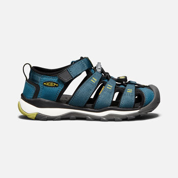 OLDER KIDS' NEWPORT NEO H2 SANDALS in LEGION BLUE/MOSS - large view.