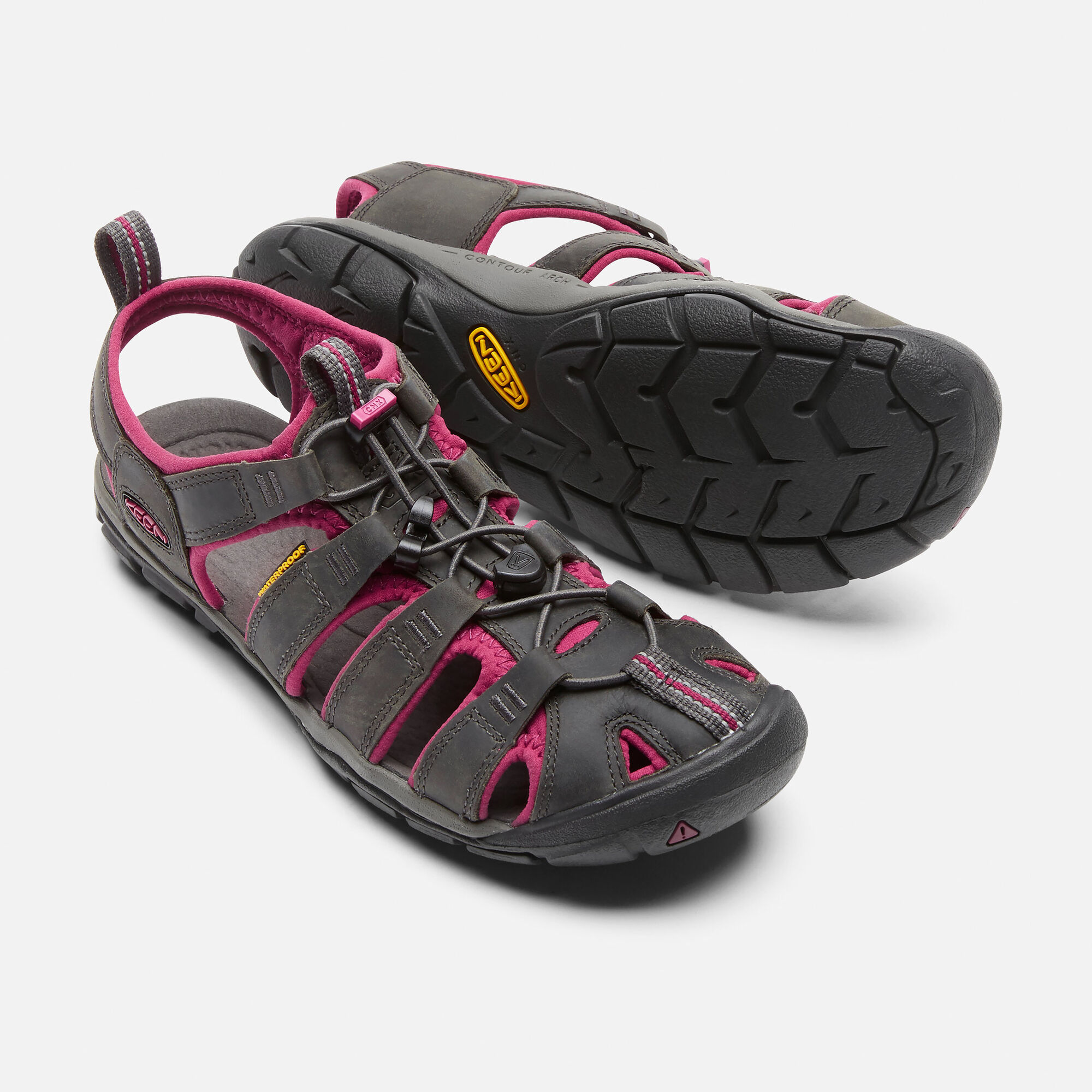 fd0baa862c1 Women's Clearwater Leather CNX in Magnet/Sangria - small view.