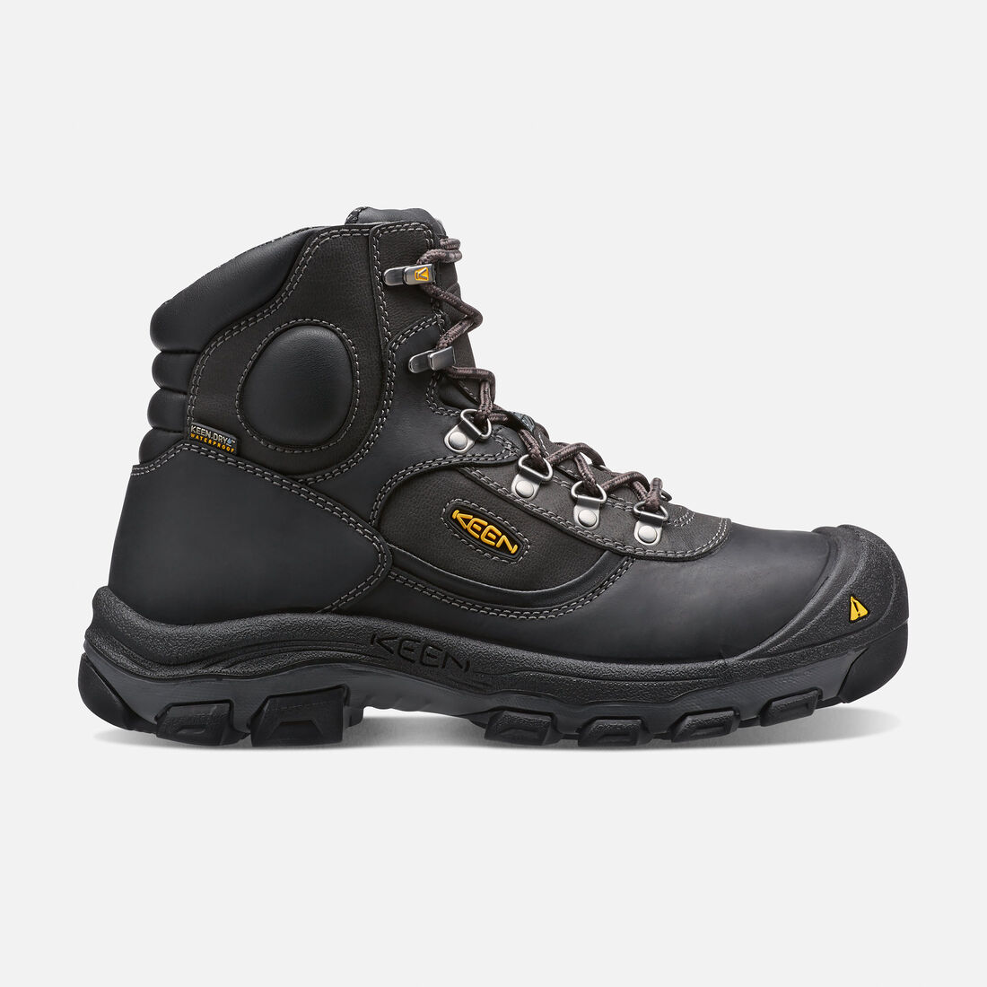 "Men's Leavenworth Internal Met 6"" Boot (Steel Toe) in Black - large view."