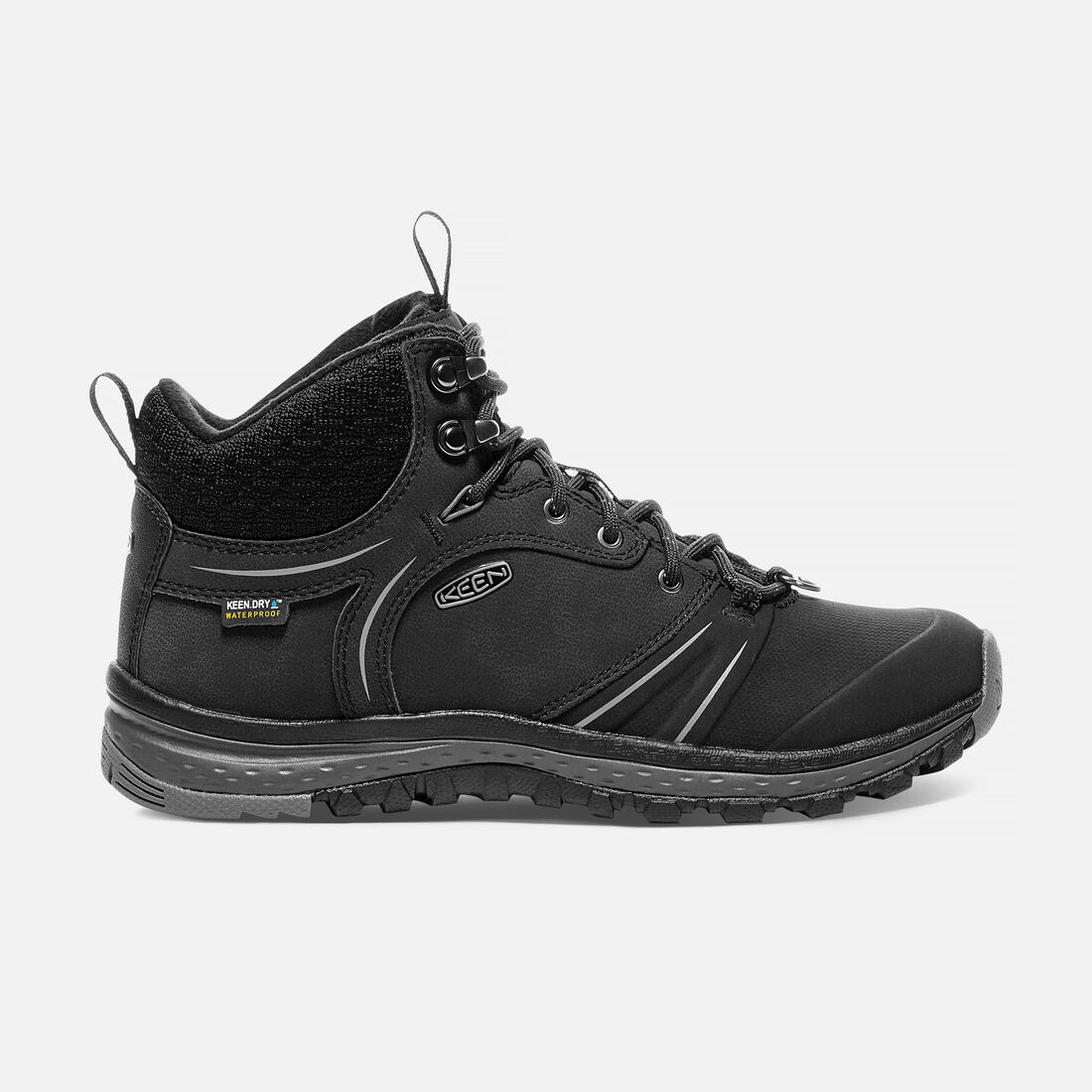 Women's TERRADORA WINTERSHELL Waterproof Mid in Black/Magnet - large view.