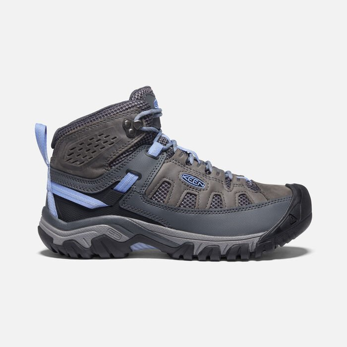 Women's Targhee Vent Mid in Steel Grey/Hydrangea - large view.