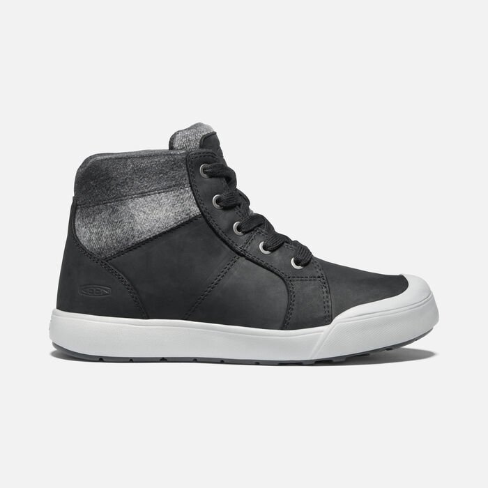 Women's Elena Mid Boot in Black/Drizzle - large view.