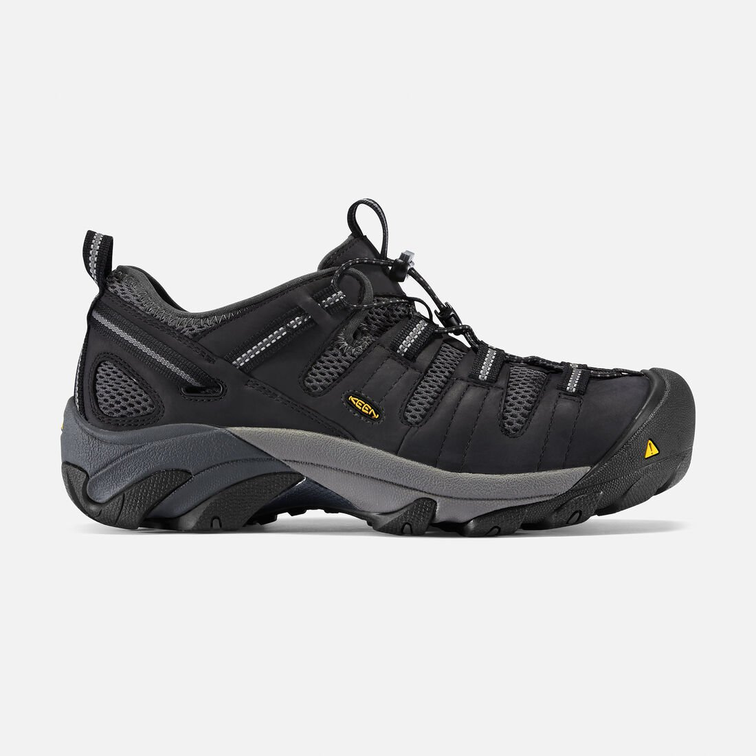 Men's Atlanta Cool (Steel Toe) in Black - large view.