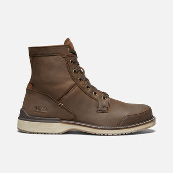 MEN'S EASTIN CASUAL BOOTS in VEG BROWN - large view.