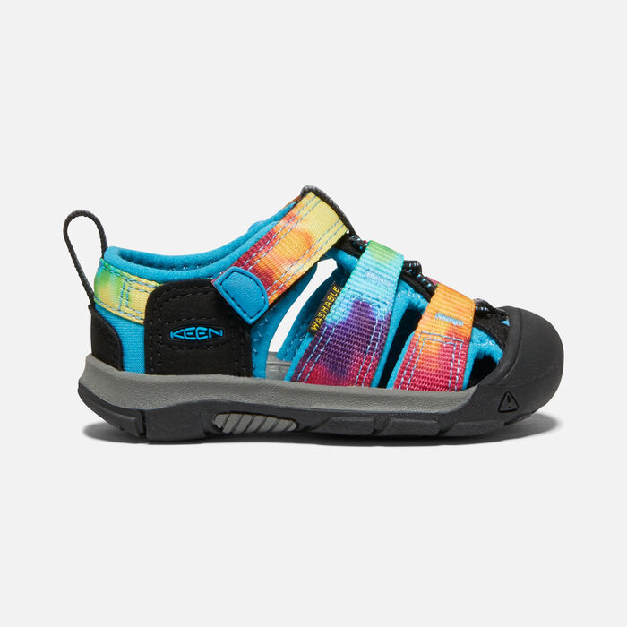Toddlers' Newport H2 Sandals in Rainbow Tie Dye - large view.