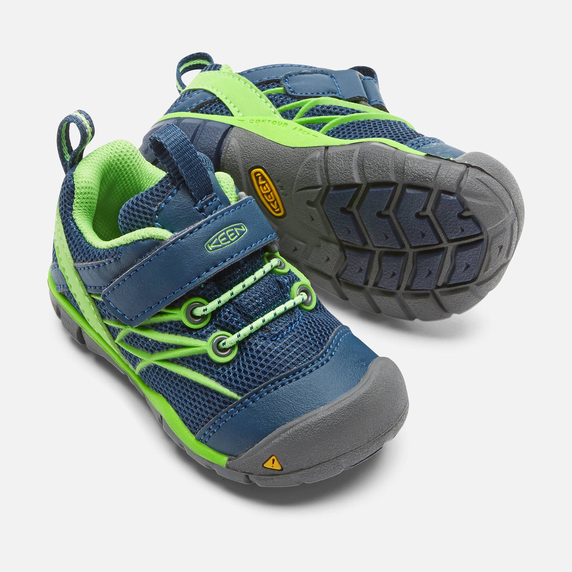 b30ee8eee2a Toddlers' Chandler CNX in POSEIDON/JASMINE GREEN - small view.