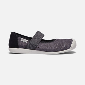 Women's Sienna Canvas Mary Jane in MAGNET/BLACK - large view.