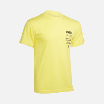 Disaster Relief Tee in YELLOW - large view.