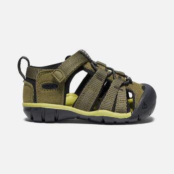 Toddlers' Seacamp II CNX in DARK OLIVE/BLACK - large view.
