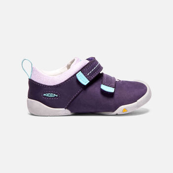 Toddlers' Pep double strap Trainers in Purple Plumeria/Sweet Lavender - large view.