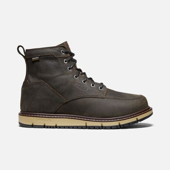 "Men's San Jose 6"" Waterproof Boot (Soft Toe) in Cascade Brown - large view."