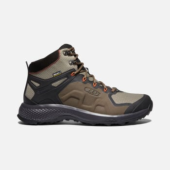MEN'S EXPLORE WATERPROOF HIKING BOOTS in CANTEEN/BRINDLE - large view.