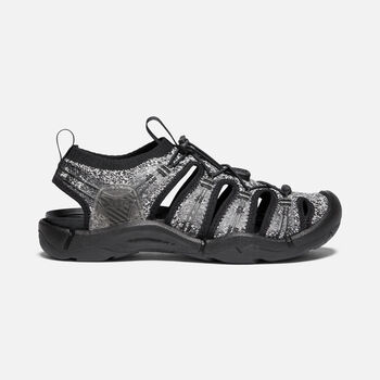 Women's Evofit 1 Sandals in Mix Gray/Black - large view.