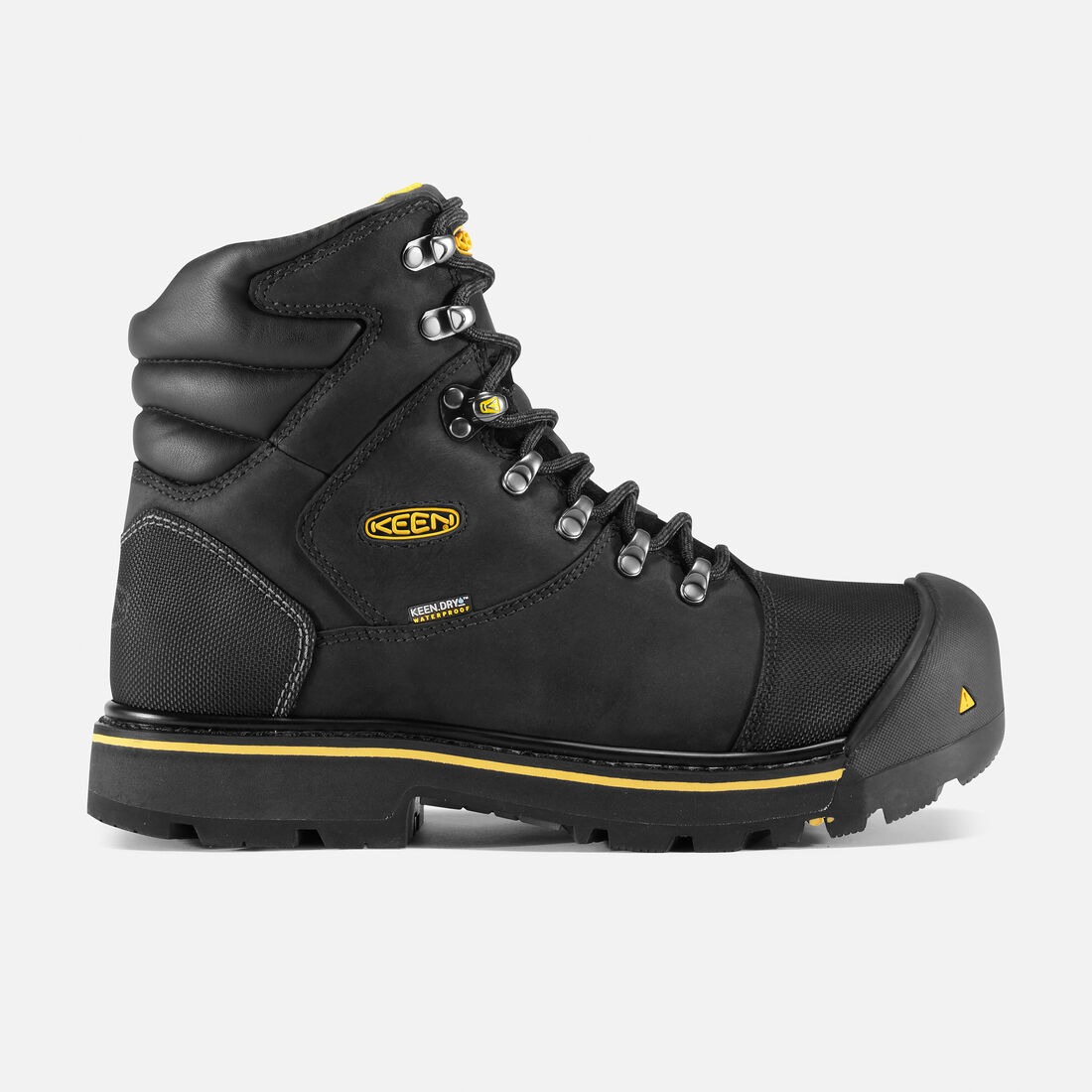 e370053feac1 Men s Milwaukee Waterproof (Steel Toe) in Black - large view.