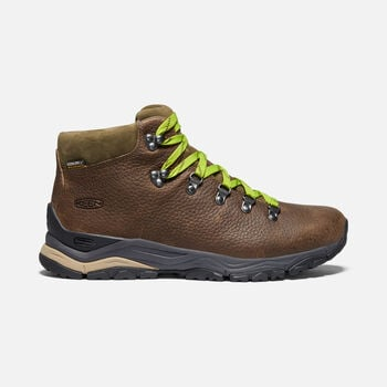 Men's Feldberg Apx Ltd Waterproof Hiking Shoes in IN THE WOODS GREEN - large view.