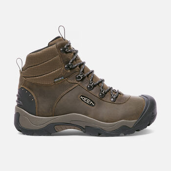 Men's Revel III Hiking Boots in Great Wall/Canteen - large view.