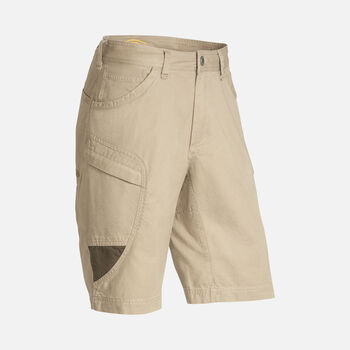 Men's Newport Casual Cargo Shorts in Khaki/Olive Green - large view.