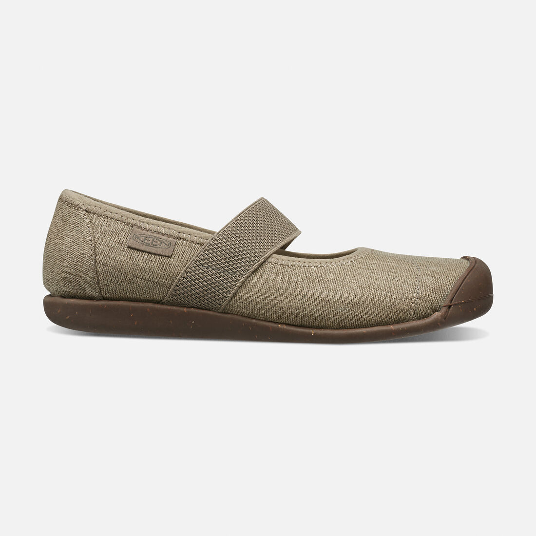 Women's Sienna Canvas Mary Jane in Brindle - large view.