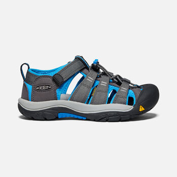 Younger Kids' Newport H2 Sandals in Magnet/Brilliant Blue - large view.
