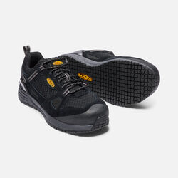 Women's Springfield (Aluminum toe) in Black/Steel Grey - small view.