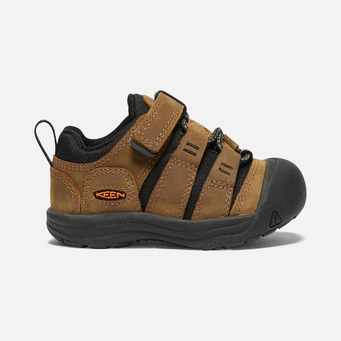 Toddlers' Newport Shoe in Bison/Black - large view.