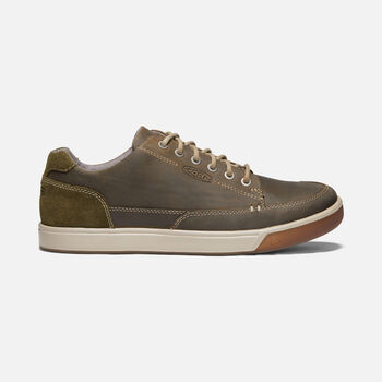Men's Glenhaven Casual Trainers in CANTEEN/DARK OLIVE - large view.