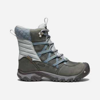 HOODOO III LACE UP BOTTES D'HIVER POUR FEMMES in TURBULENCE/WROUGHT IRON - large view.