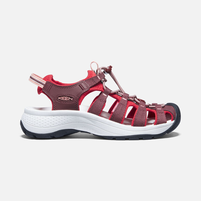 Women's Astoria West Sandals in Andorra/Red Dahlia - large view.