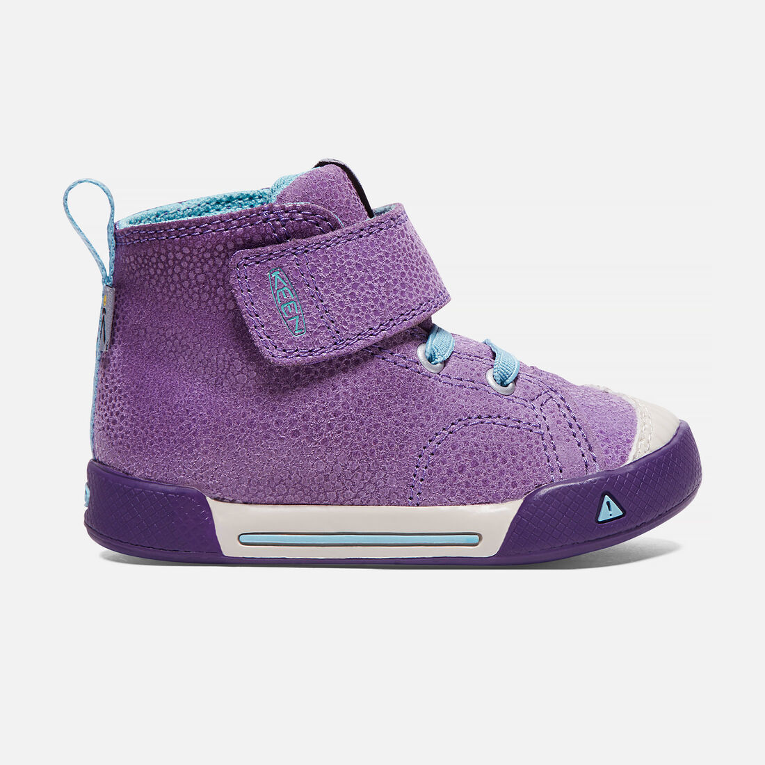 Toddlers' Encanto Scout High Top in Purple Plumeria/Aqua Haze - large view.