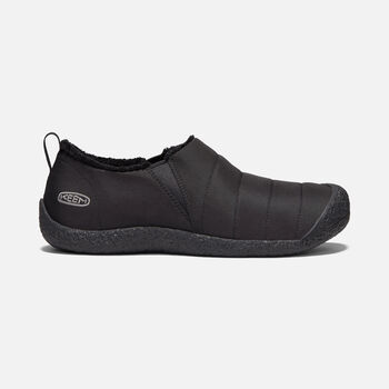 Men's Howser II Slipper in BLACK/STEEL GREY - large view.