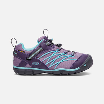 Big Kids' CHANDLER Waterproof CNX in Montana Grape/Aqua Haze - large view.