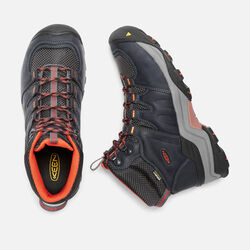MEN'S GYPSUM II WATERPROOF MID HIKING BOOTS in India Ink/Burnt Ochre - small view.