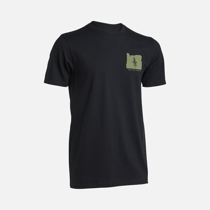 Men's PNW Tee in Black - large view.