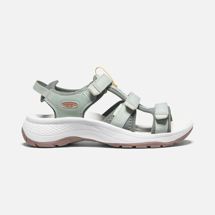 Women's Astoria West Open-Toe Sandals in Desert Sage/Castor Grey - large view.