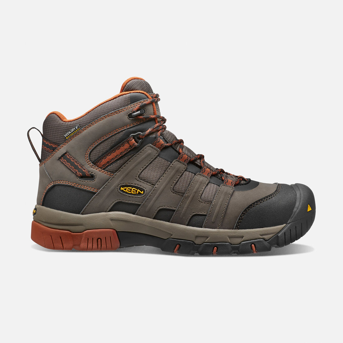 05b267f50d3bcb Men s Omaha Waterproof Boot (Steel Toe) in Black Olive Gingerbread - large  view