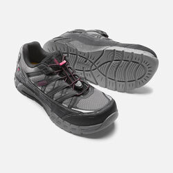 Women's ASHEVILLE ESD (Aluminum Toe) in Black/Gargoyle - small view.