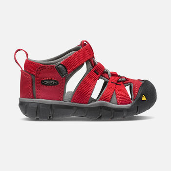 Toddlers' Seacamp II Cnx Sandals in RACING RED/GARGOYLE - large view.