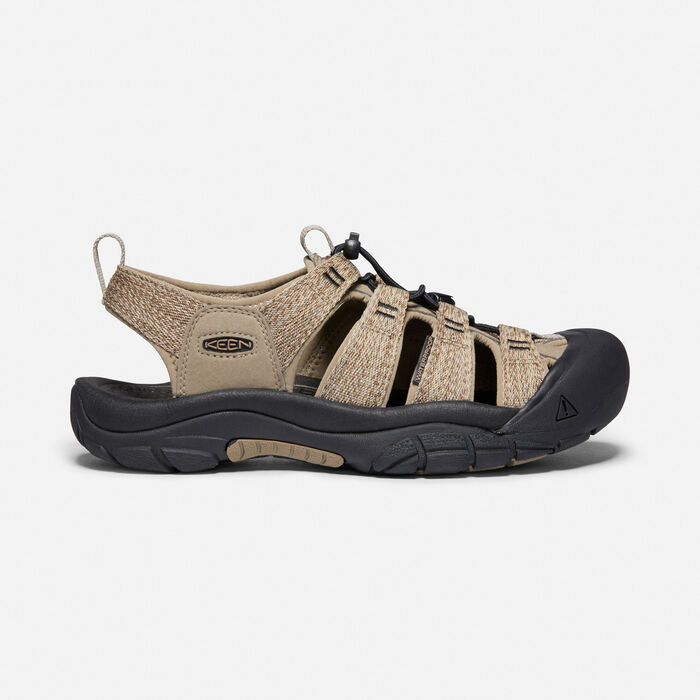 Men's Newport H2 in Taupe/Black - large view.