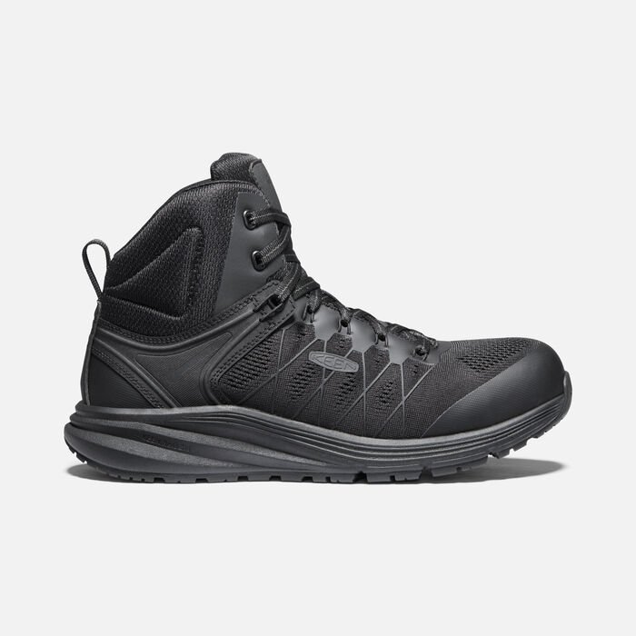Men's Vista Energy Mid (Carbon-Fiber Toe) in Black/Raven - large view.