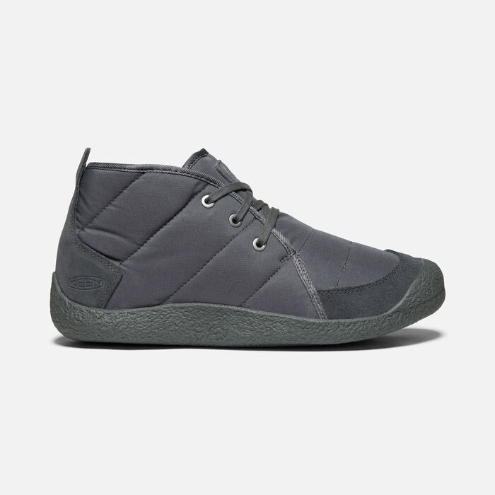 Men's Howser Quilted Chukka in STEEL GREY/RAVEN - large view.