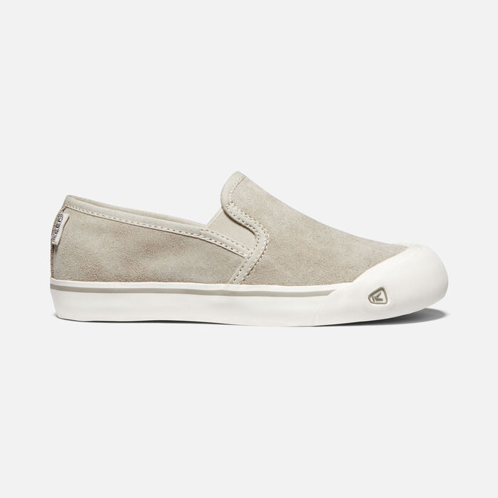 Women's Coronado III Suede Slip-On in DOVE GREY - large view.